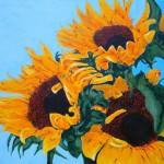 "Acrylic on canvas 48""x60"". My wife jenny said paint something big."